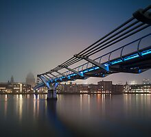 Foggy London Mornings by JzaPhotography