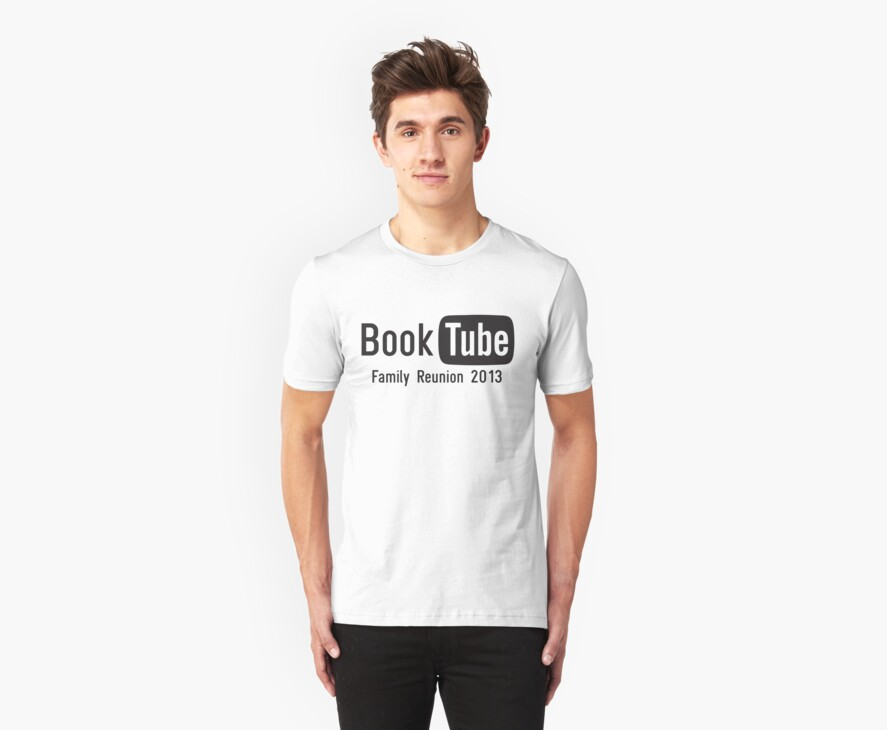 BookTube T-Shirt by Jeffrey West