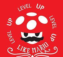 Super Mario LVL UP by Zombi3Kid95