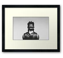 La Flame Framed Print