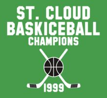 St. Cloud Baskiceball Champions Kids Tee