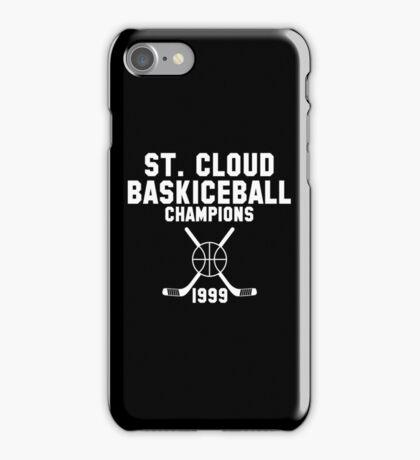 St. Cloud Baskiceball Champions iPhone Case/Skin