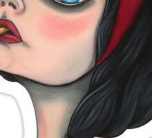 Snow White Tee Sticker