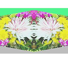 Mirrored bouquet Photographic Print