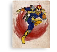 Captain Falcon Canvas Print