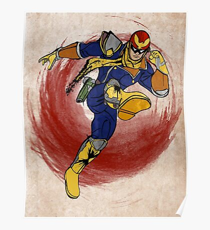 Captain Falcon Poster
