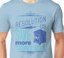 New Year's Resolution #9 - Save more water T-Shirt