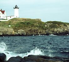 Nubble Lighthouse by wolftinz