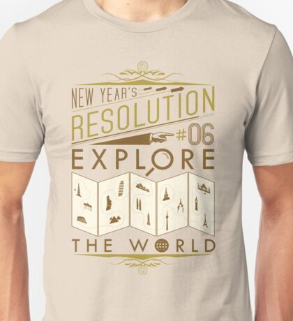 New Year's Resolution #6 - Explore the world T-Shirt
