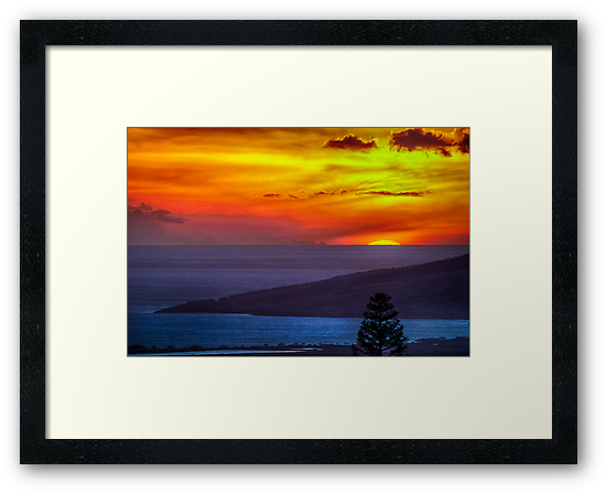 Maui Sunset  - 11/17/12 by NealStudios