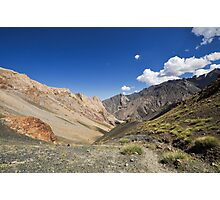 India, Jammu and Kashmir, Ladakh, landscape Photographic Print