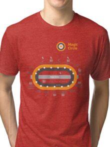 Glasgow Underground - Potter Style Tri-blend T-Shirt