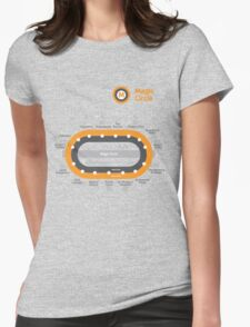 Glasgow Underground - Potter Style Womens Fitted T-Shirt
