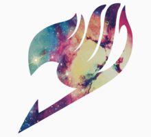 Galaxy Fairy Tail Logo One Piece - Long Sleeve