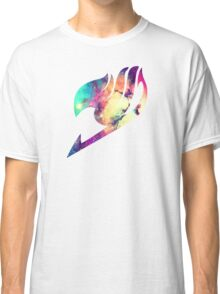 Galaxy Fairy Tail Logo Classic T-Shirt