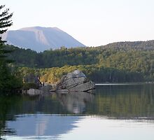 Mount Katahdin From Rainbow Lake by MarquisImages