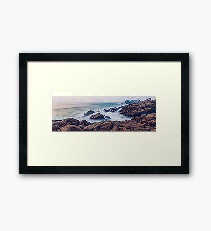 Yallingup Rocks Revisited Framed Print