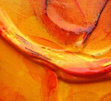 Orange Flower Petal by ihklektik