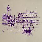 Venice memories #1 by Pauline Winwood