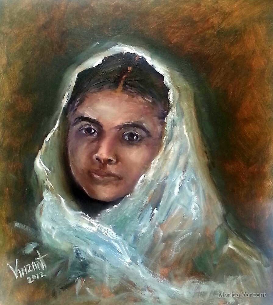 Malala - The Face of Bravery by Monica Vanzant