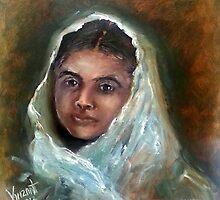 Malala - The Face of Bravery by Monica Vanzant