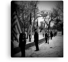Patriot Guard  Canvas Print