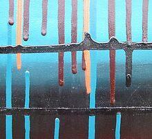Blue Hanging By A Thread by ihklektik