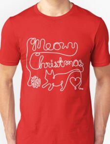 Meowy Christmas - Yarn Cat Love Unisex T-Shirt
