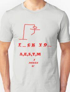 hangman game T-Shirt