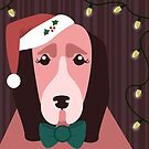 Christmas Dog by Wingspan91089