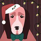 Christmas Dog by Sydney Eller