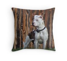 Come a little closer...I dare ya! Throw Pillow