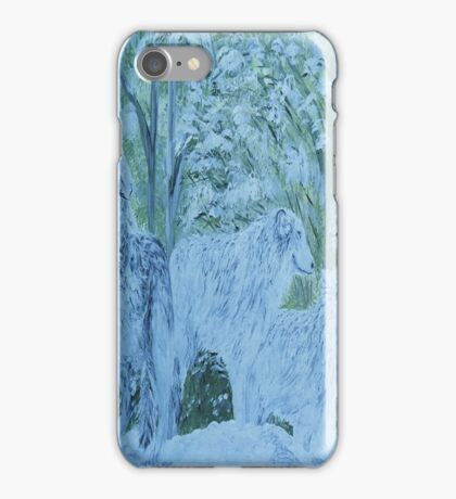 Snow Wolves iPhone Case/Skin