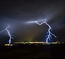 Storm Over Geelong November 30 2012 by forgantly