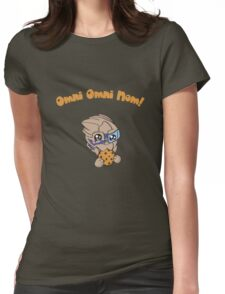 Omni Omni Nom! Womens Fitted T-Shirt