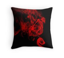 Smokin' 2 Throw Pillow