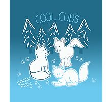 Cool cubs Photographic Print
