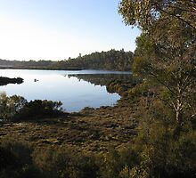 Silver Lake early morning - photo Peter by PeterJF