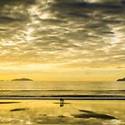 Sunrise At Langs beach by Andrew Lever