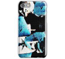 Blue Guests iPhone Case/Skin