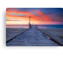 Normanville Jetty Canvas Print