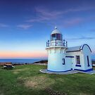 Crowdy Head Lighthouse. by Warren  Patten