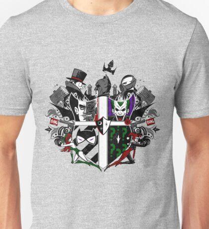 Criminal Coat of Arms- White Unisex T-Shirt