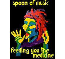 Spoon of music Photographic Print