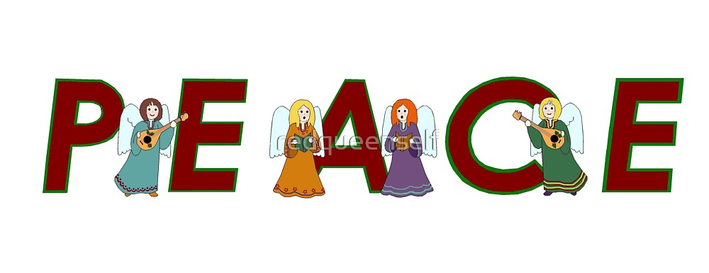 Angels of Peace by redqueenself