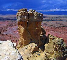 Rock Statue by podspics