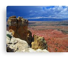 Cliff to Nowhere Canvas Print
