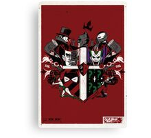 Criminal Coat of Arms Canvas Print