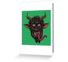 Greeting From Krapus / Gruß vom Krampus [revised] Greeting Card