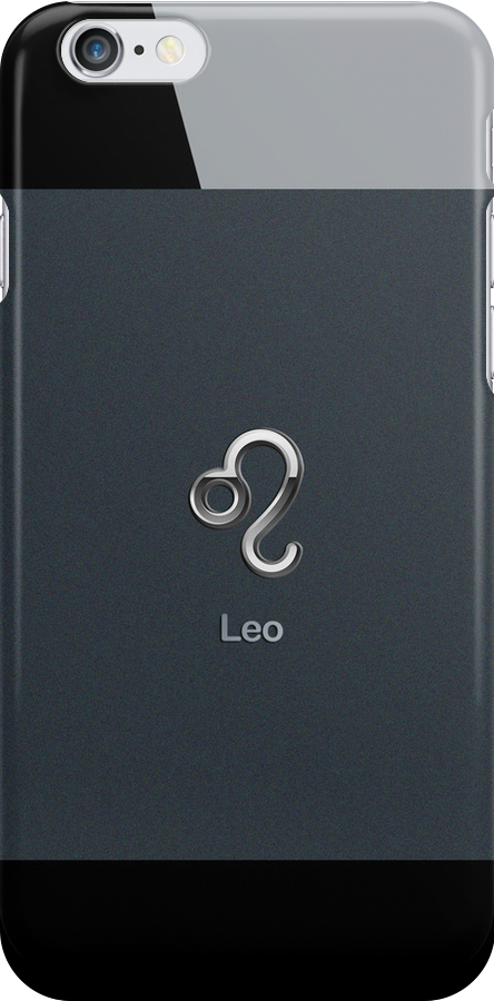 Apple Smart Phone Style with Astrology Leo Sign | by scottorz